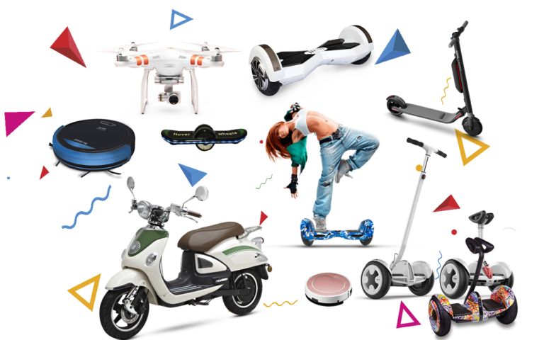 Ремонт квадрокоптеров, электросамокатов, робот-пылесосов, и другого электротранспорта